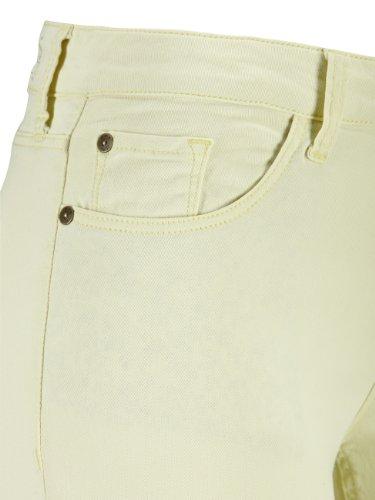 H.I.S - Pantalon - Slim Femme Gelb (2005; pale yellow)