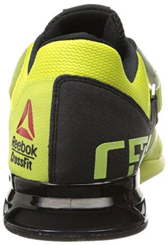 Reebok-Mens-Leather-Crossfit-Lifter-Plus-20-Training-Shoe-High-Vis-GreenBlack-95-DM-US