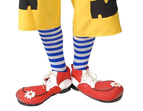 22 - Clownschuhe aus Latex (1 Paar) (Adult Big Top Clown Kostüme)