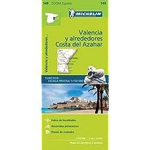 Valencia Costa del Azahar Zoom Map 149 (Mapas Zoom Michelin)