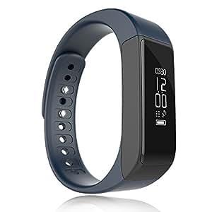JoyGeek Wireless Fitness Tracker Smartband und Bluetooth Sportarmband mit Schrittzähler, Schlafmonitor, Kalorienzähler für tägliche Aktivität und Schlaf (blau)