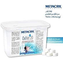 Oxi Net 20: oxígeno activo en pastillas de 20 g - 1,2 kg