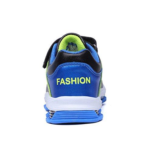 planas Exterior Tênis Esportivos Lace Agradáveis Inverno Quente sapatos Jovens Azul gwEqCF