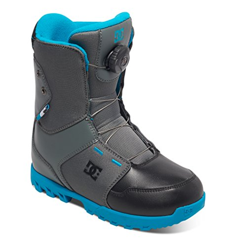 DC Jungen Youth Scout Snowboardboots, Cool Grey, 2/M