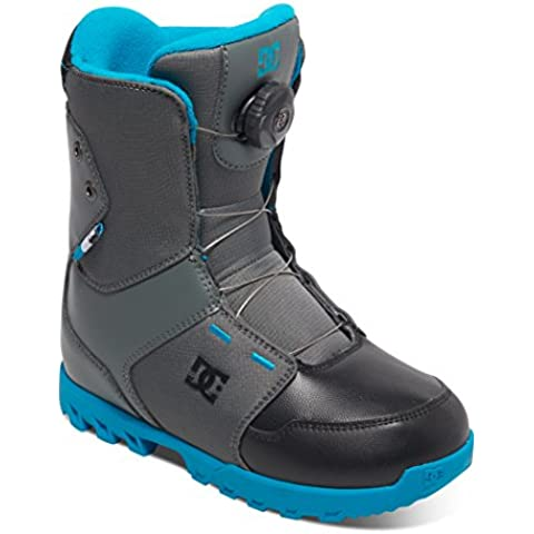 DC Botas de snowboard Youth Scout, color Gris (Cool Grey), tamaño 35