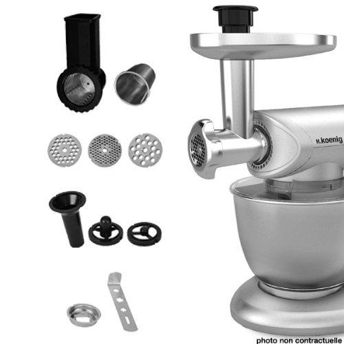 Accessori AC8 per robot impastatore multifunzione KM80s - Kit con 8 accessori per tutti i tipi di preparazioni culinarie.