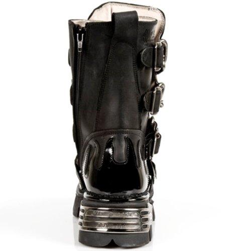 New Rock Boots Herren Stiefel - Style 727 S1 schwarz Schwarz