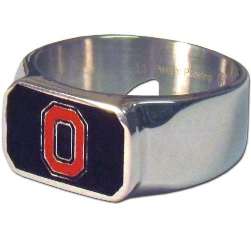 Siskiyou NCAA Ohio State Buckeyes Stahl Flaschenöffner, Ring Größe ()