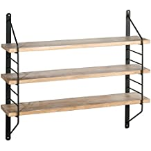 etagere murale metal. Black Bedroom Furniture Sets. Home Design Ideas