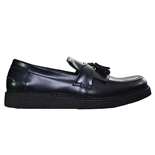 FRED PERRY - - Uomo - Mocassins FP x George Cox Cuir Noir pour homme -