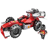 Vivir High Quality 165 Piece Racing Car Construction Set Toys For Kids ( Toys For 6 Years Old Boys And Girls )