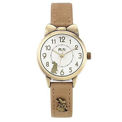 fq-234-coffee-leather-strap-bowknot-rabbit-design-girls-woman-quartz-wrist-watches