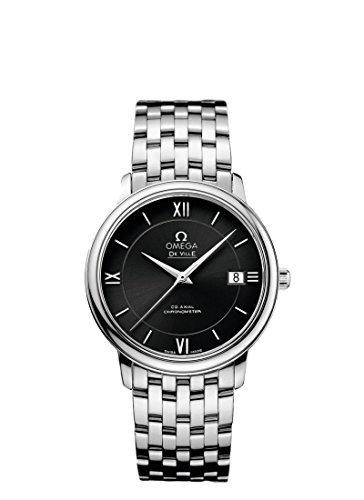 Omega DeVille Prestige Co-axial reloj para hombre 424.10.37.20.01.001por Omega