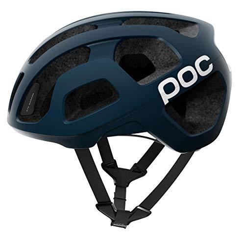 POC Octal-helm, Unisex volwassene, zwart (marine zwart), M (54-60cm)