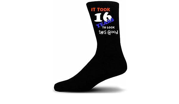 I Love Diving Picture Socks Adult UK 5-12 Black Cotton Novelty Socks