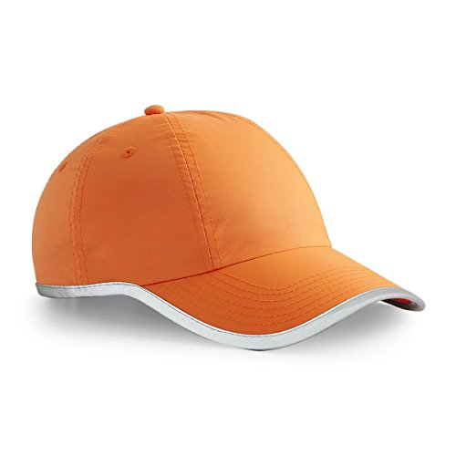 Beechfield - Casquette de Baseball - Homme taille unique - Orange - Fluorscent orange - Taille unique
