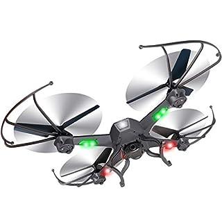 ZNHL DroneOversized Vier-Achsen-Flugzeuge resistent gegen fallende Fernbedienung Flugzeuge Drohne RC-Flugzeug Future War One-Key-Lock-Segeln