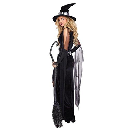 regelmäßigen hexe kleid hut hat halloween party kostüm cosplay (M) (Tokyo Halloween-festival)