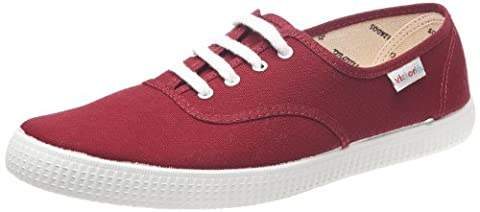 Victoria 106613, Sneakers Basses mixte adulte, Rouge (Burdeos), 40