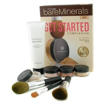 BARE MINERALS - Get started Kit - Starter Pack, Kennenlern-Set - LIGHT (Mineral-starter-kit)
