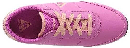 Le Coq Sportif - Racerone Gs Syn Lea, Sneakers per bambine e ragazze Rosa (Pink (Ibis Rose))