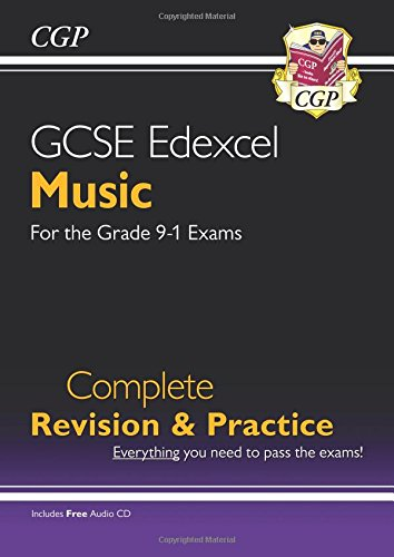New GCSE Music Edexcel Complete Revision & Practice (with Audio CD) - For the Grade 9-1 Course por CGP Books