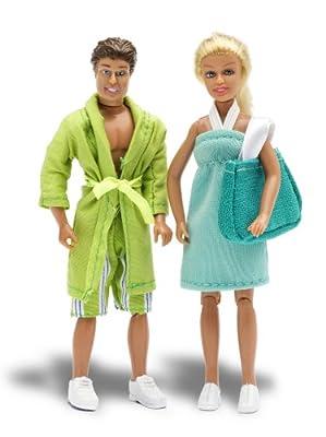 Lundby 60.9018.00 - Muñecos de padres Stockholm en traje de baño para casa de muñecas [importado de Alemania] por Lundby
