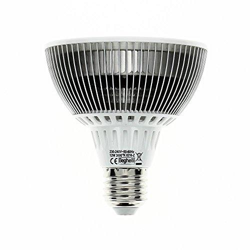 Beghelli BEG56053 Lampada LED E27, 12 W, Multicolore, vetro;policarbonato;acciaio