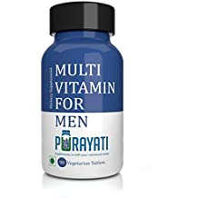Purayati Multivitamin Tablets for Men - 90 Count
