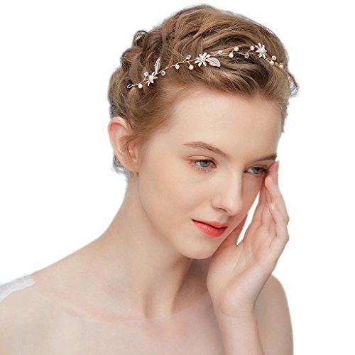 hopewey Accessori per capelli da sposa accessori per capelli da sposa accessori per capelli accessori per capelli accessori per capelli copricapo da
