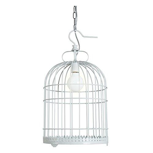 DYBLING Retro Ceiling Beleuchtung Moderne Eisen Pendelleuchten Lampe Unterputzleuchten Vintage Vogelkäfig Kronleuchter 30 * 56CM für Esszimmer, Schlafzimmer, Wohnzimmer, Coffee Bar, Flur