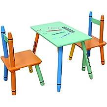 Bebe Style Table/Chaise en Bois