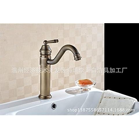 Il lusso classico rubinetto di rame retrò di fascia alta