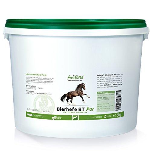 AniForte Bierhefe BT 5 kg - Naturprodukt für Pferde - (Qualitäts-ID: OLP C 06)