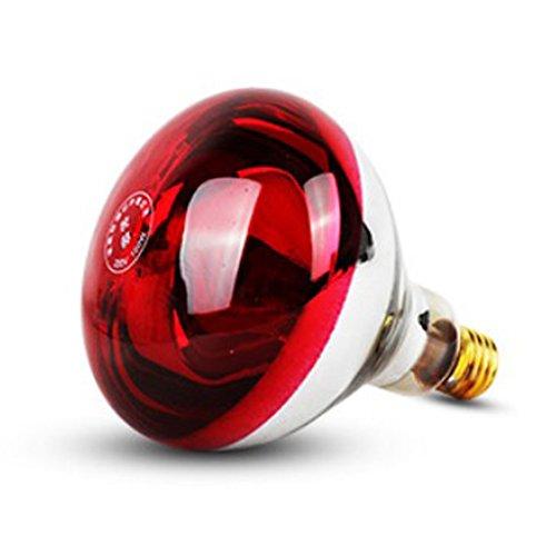 Baoblaze 1 Stück E27 Wärme Glühbirne Lampe Reptilien-Hitze-Lampe Haustier-Reptilien-Zucht-Hitze-Lampen-Birne - Typ 3-250W -