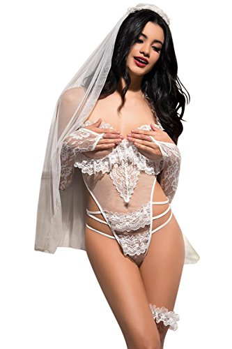 VIP Erotica Sexy Bride Woman's Lingerie Costume Set