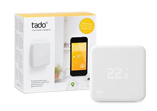 tado° Termostato Intelligente Kit di Base V2 con controllo del riscaldamento via smartphone