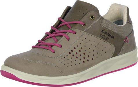 Lowa San Franzisco Ladies - Chaussure légere avec le design du sneaker pour chaque situation. Modern et confortable. Beige Rose