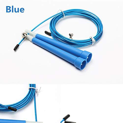 Queta PVC Speed Wire Rope Springseil Spezial Test Springseil Fitness schwarz Schwarz