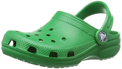 Crocs Classic Sabot K - Chaussons mixte adulte,Vert (Kelly Green),29-31 ( 12-13 M US US)