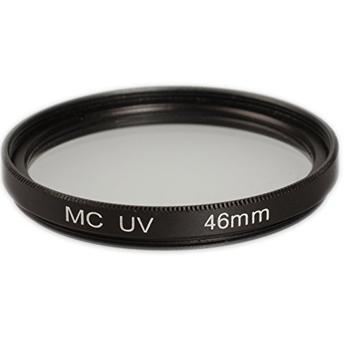 Ares Foto® Filtro de protección UV 46mm (multicoated) para Panasonic H-H025 LUMIX G 25 mm / F1.7 ASPH.