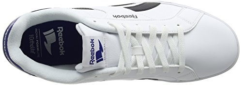 Reebok Mens Royal Complete 2ll Sneakers Ivory (bianco / Nero / Collegiate Royal)