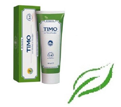 ERBORISTERIA MAGENTINA - POMATA TIMO TUBO 100 ML ottimo rimedio balsamico per alleviare i disturbi delle vie aeree o per contrastare reazioni allergiche causate dal contatto con agenti esterni.