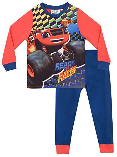 Blaze e le mega macchine pigiama a maniche lunghe per ragazzi blaze & the monster machines 2-3 anni