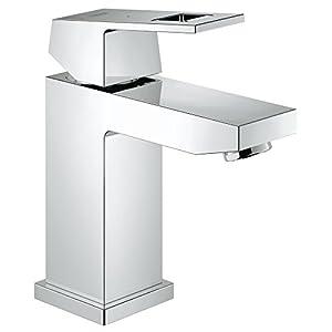 Grohe Eurocube – Grifo de lavabo, caño estándar (1/2″) (Ref. 23132000)