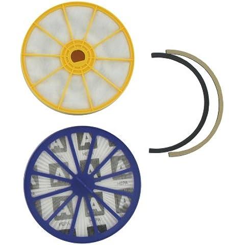 """Dyson Europart - Filtro e guarnizione """"Hepa"""" non originali, lavabili, di alta qualità, per Dyson DC07, 2 pezzi"""