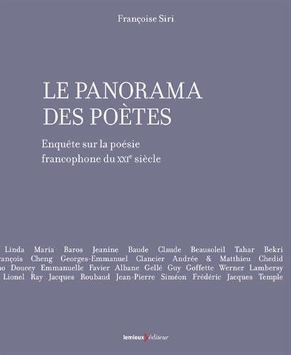 Le Panorama des potes : Enqute sur la posie francophone du XXIe sicle