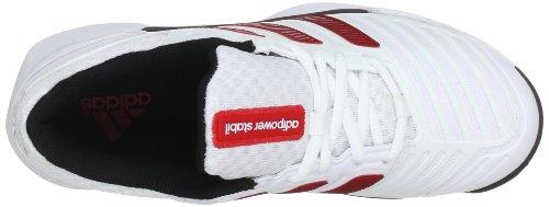 Ftw Black Light Hallenschuhe V21249 Stabil 10 Adipower Herren 1 Scarlet Synthetic White Weiß running Adidas 0 UfxwqA