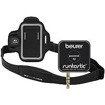 "Beurer PM-200 - Dispositivo pulsímetro para Smartphone, App ""Runtastic PRO"", color negro"