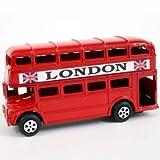 Anspitzer, Design britischer Bus, Route Master, rot, Druckguss, Sammlerstück, Souvenir,    Bleistiftspitzer